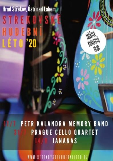 STŘEKOVSKÉ HUDEBNÍ LÉTO 2020 – Prague Cello Quartet