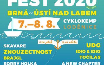Pozvánka na letní ÚTULEK FEST 2020